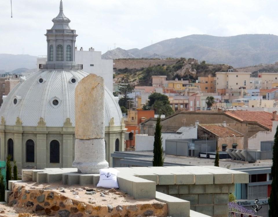 Ausgrabungsstätte in Cartagena