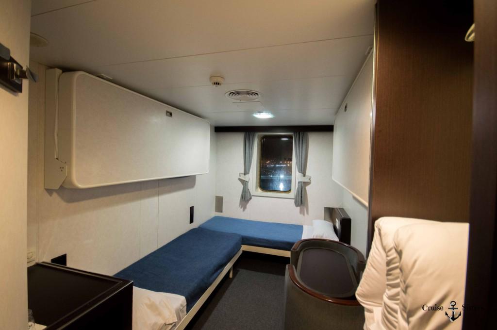 Betten in der Kabine von Balearia