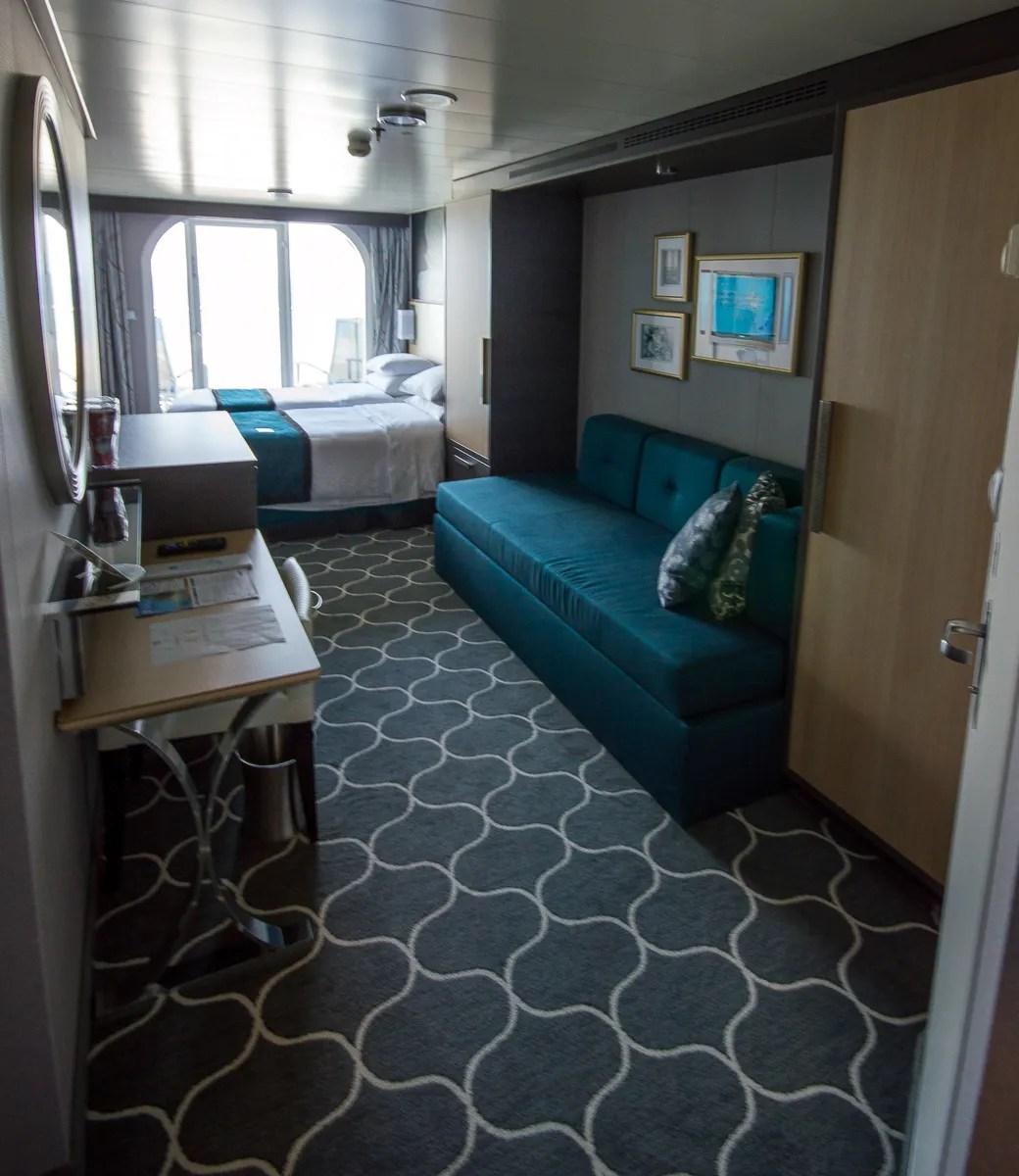 Balcony Stateroom aboard the Harmony of the Seas