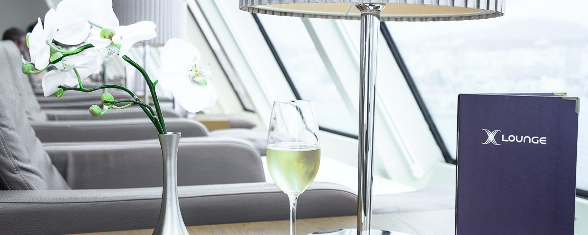 Champagne Pommery on Mein Schiff 2 X-Lounge