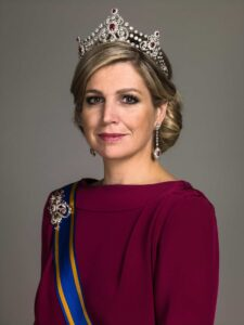 Her Majesty Queen Máxima Named Godmother of ms Koningsdam   16