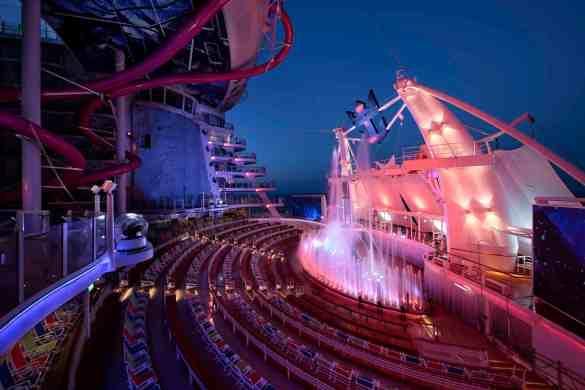 AquaTheater - Deck 6 AftHarmony of the Seas - Royal Caribbean International