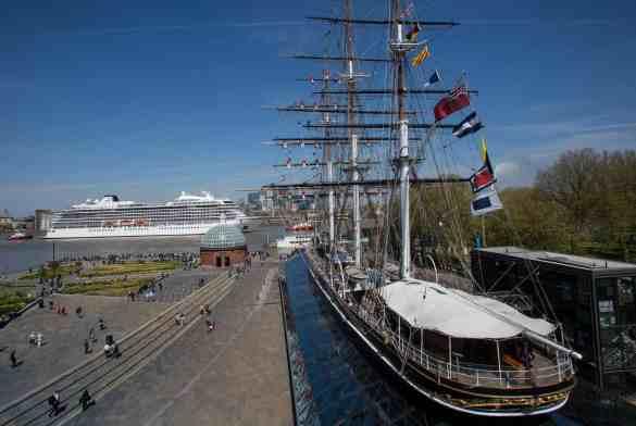 Viking Sea Christening Ceremony