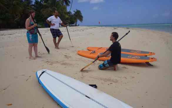 Lesson - Stand Up Paddle Tobago