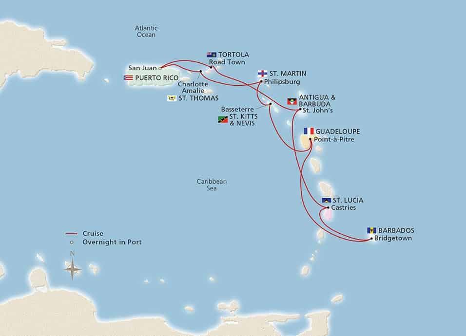 Viking Caribbean Features