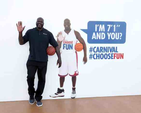 Carnival's Chief Fun Officer Shaquille O'Neal Kicks Off Hometown Celebration Welcoming New Carnival Horizon To PortMiami   21