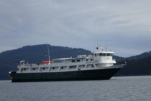 UnCruise Adventures Wilderness Discoverer in the Pacific Northwest