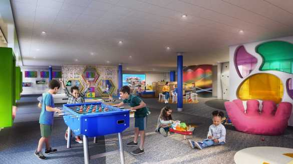 Younger kids sailing on Navigator of the Seas will enjoy Royal Caribbean's new take on the Adventure Ocean youth program in a redesigned open, free play space. With trained staff and the cruise line's award-winning programming, the modern concept will let imaginations roam free with activities organized by interest at every corner.
