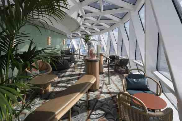 Eden Balcony - Deck 6 Aft Celebrity EDGE - Celebrity Cruises