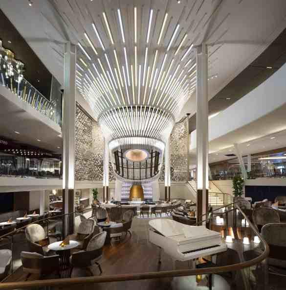 Grand Plaza - Deck 3/4 Midship  Celebrity EDGE - Celebrity Cruises