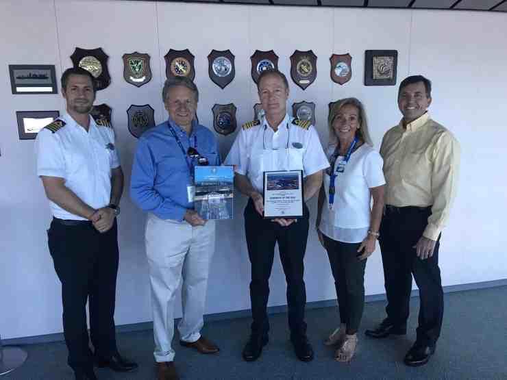 Port Canaveral plaque presentation