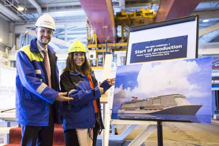 Carnival Cruise Line Begins Construction of its Newest and Largest Ship | 12