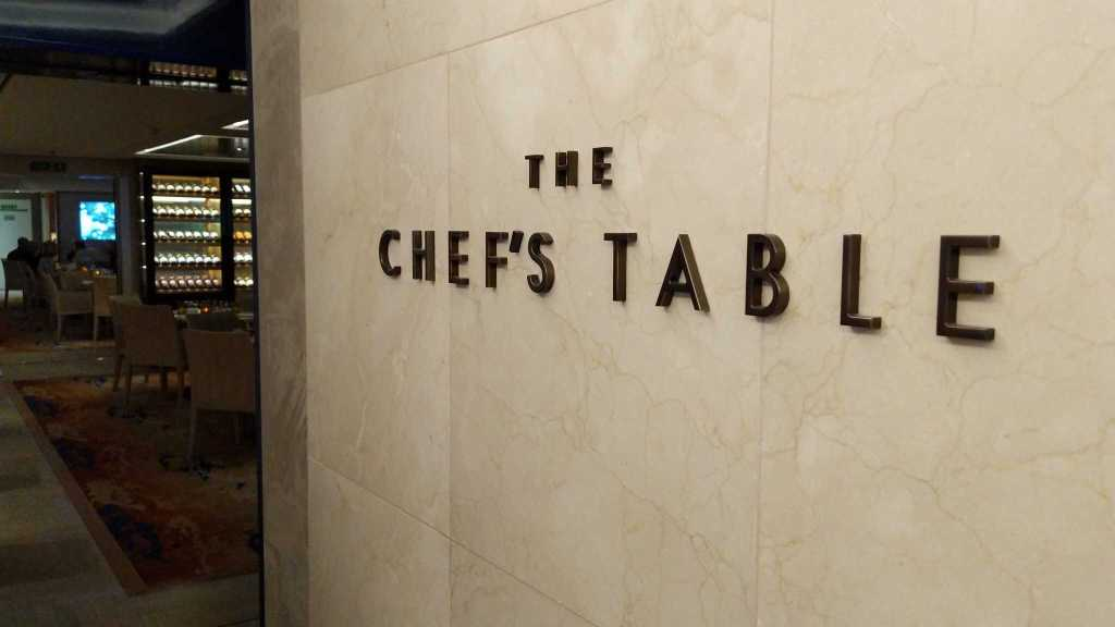 The Chef's Table on Viking Sky
