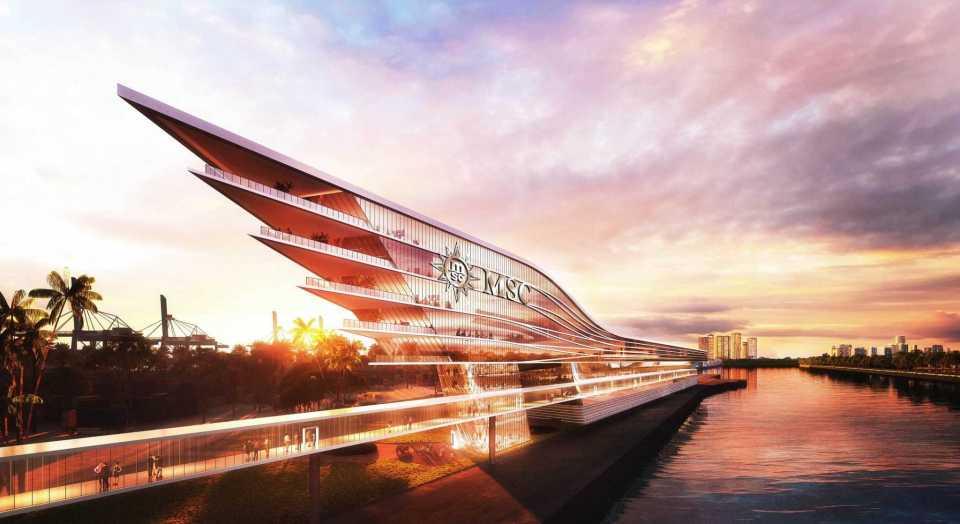 MSC Cruises Unveils Plans for Innovative Terminal at PortMiami
