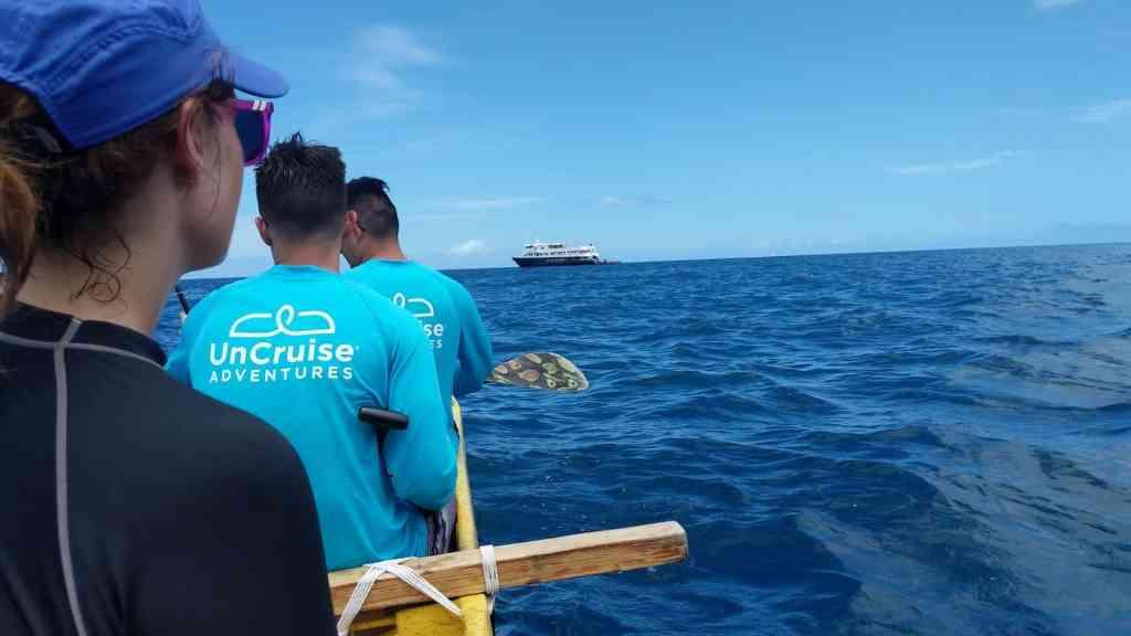 blue waters of Hawaii