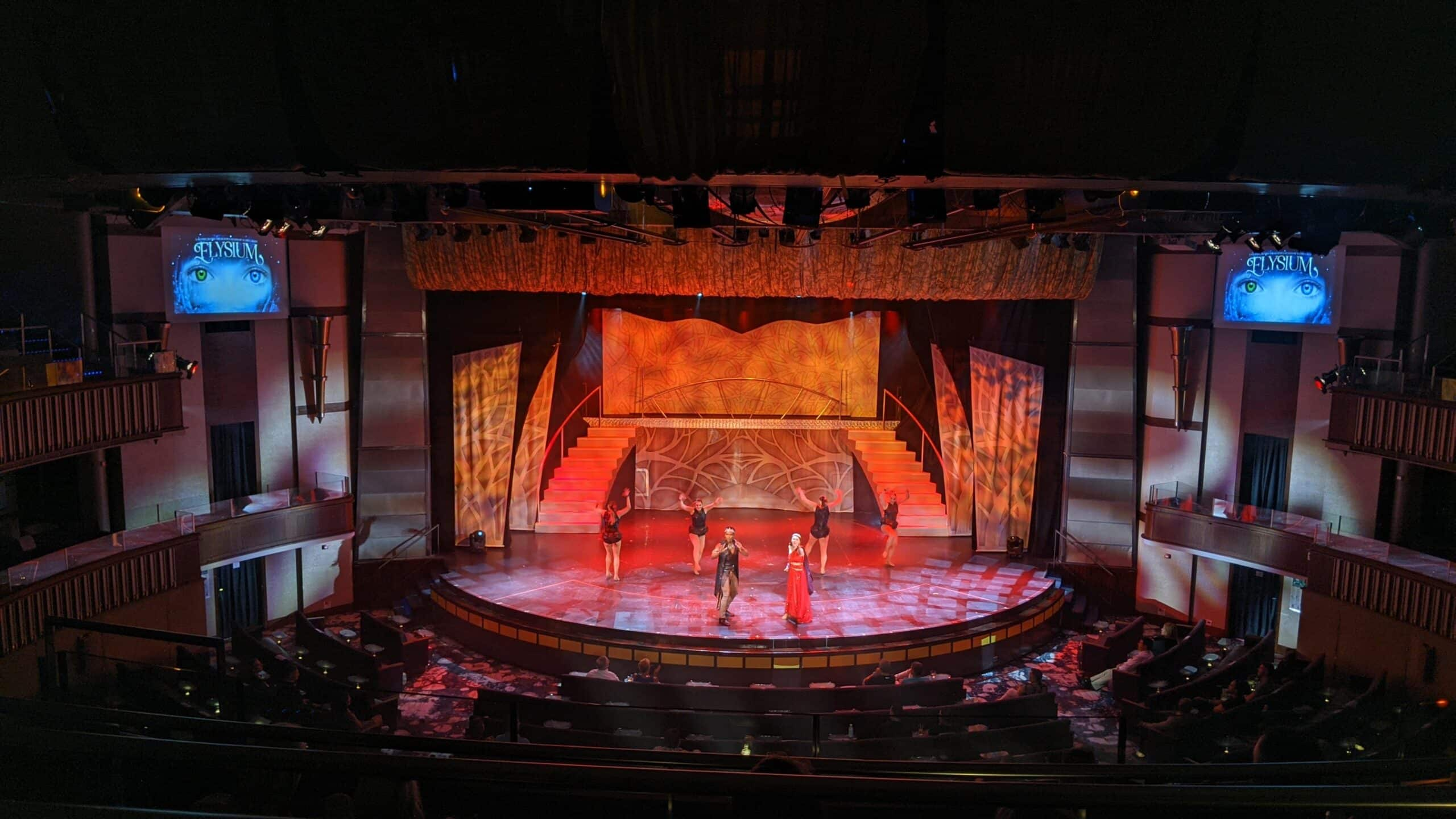 Celebrity Millennium Theatre