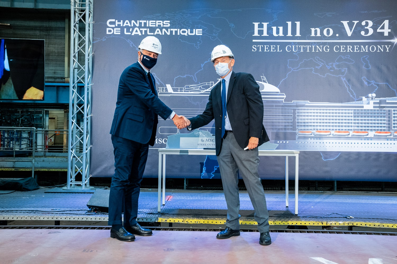 MSC Cruises Begins Construction Of MSC Euribia | 23