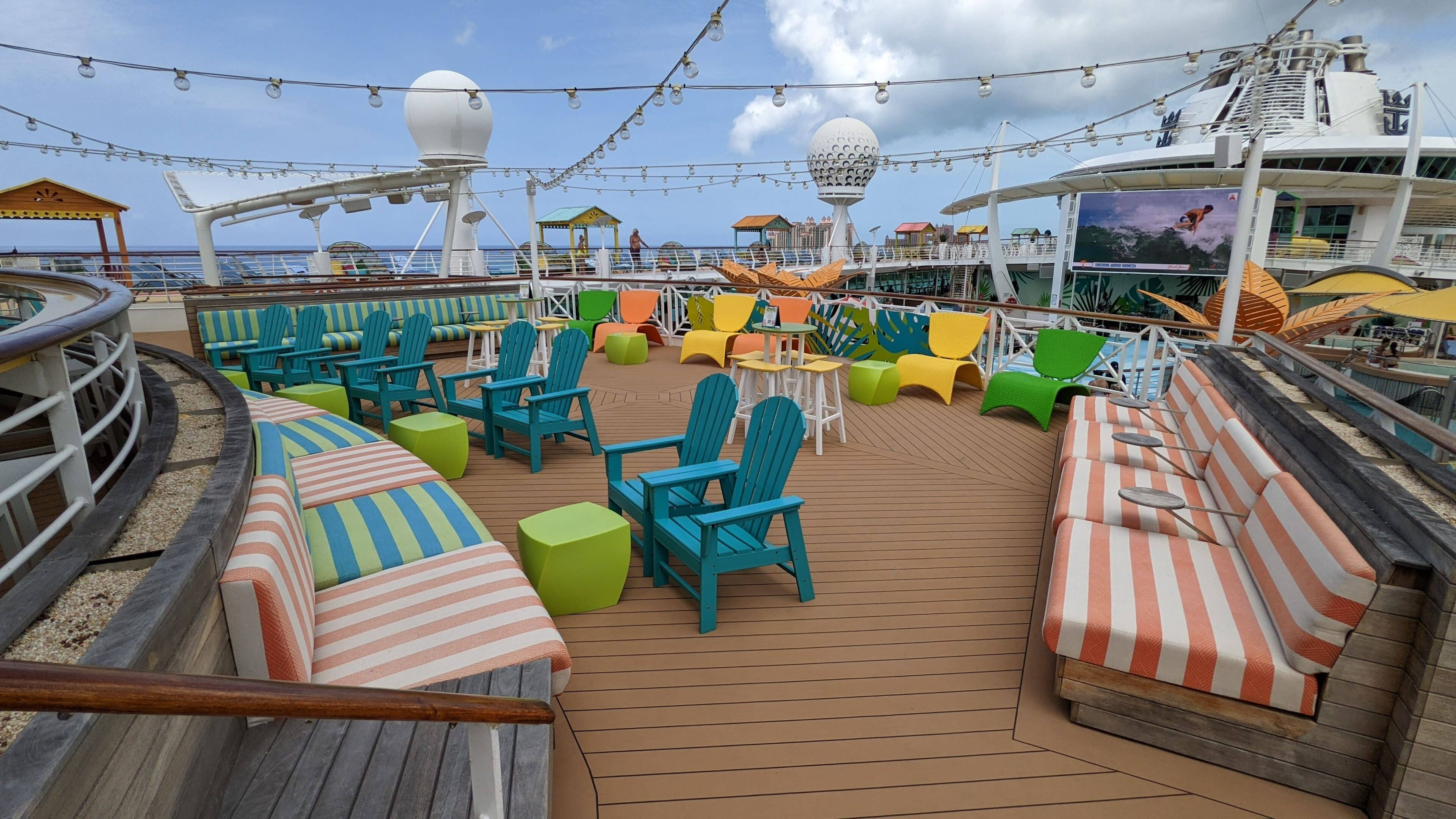 The Lime & Coconut Seating