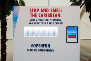 Carnival Cruise Line Pops #OpenFun, Bringing Island Warmth to Chilly New York City