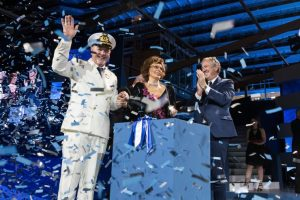 MSC Seaside Officially Named In Unforgettable Ceremony At PortMiami