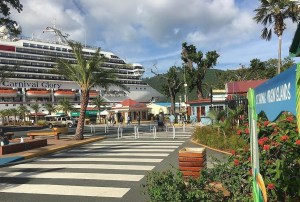 First Carnival Cruise Ship Returns to St. Thomas Since the Hurricanes