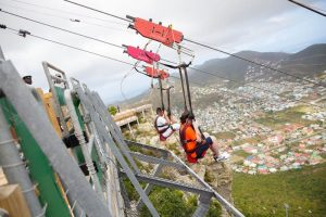 Carnival Celebrates Opening of World's Steepest Zip Line in St. Maarten