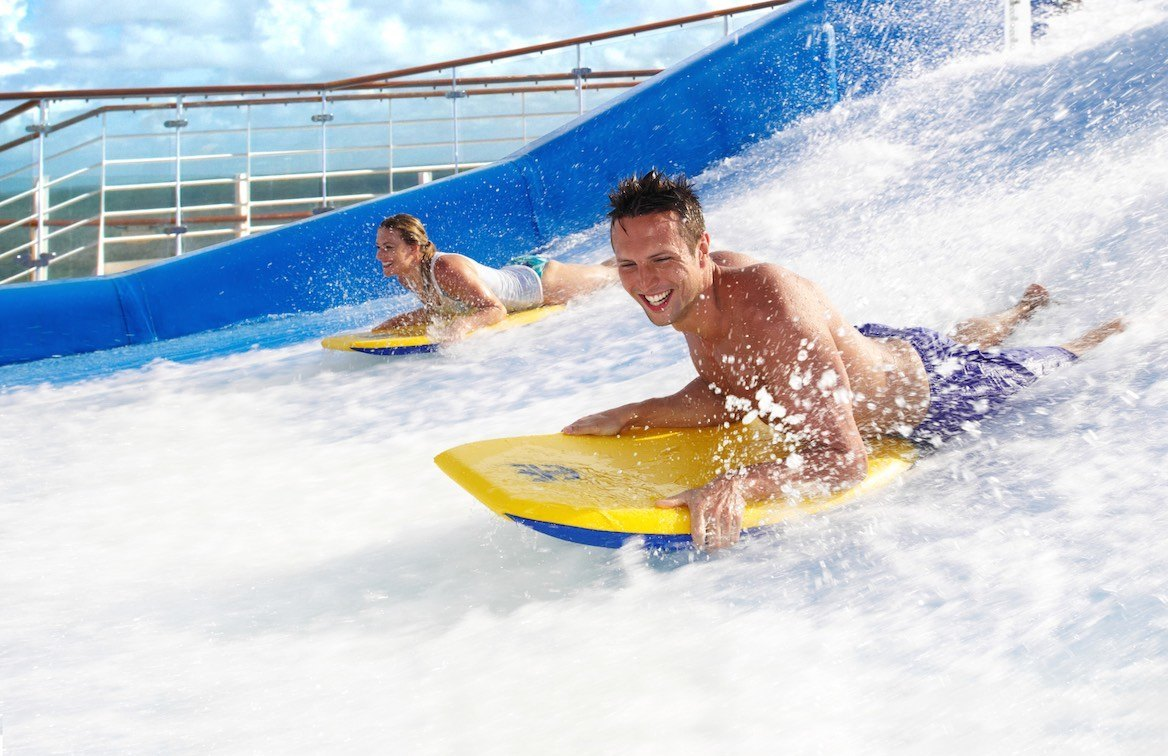 Image result for royal caribbean voyager of the seas flowrider