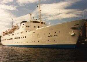 Ånedin Linjen - Baltic Star (1) - summer 1987 Stockholm