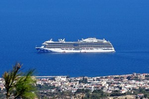 ROYAL PRINCESS vor Chios