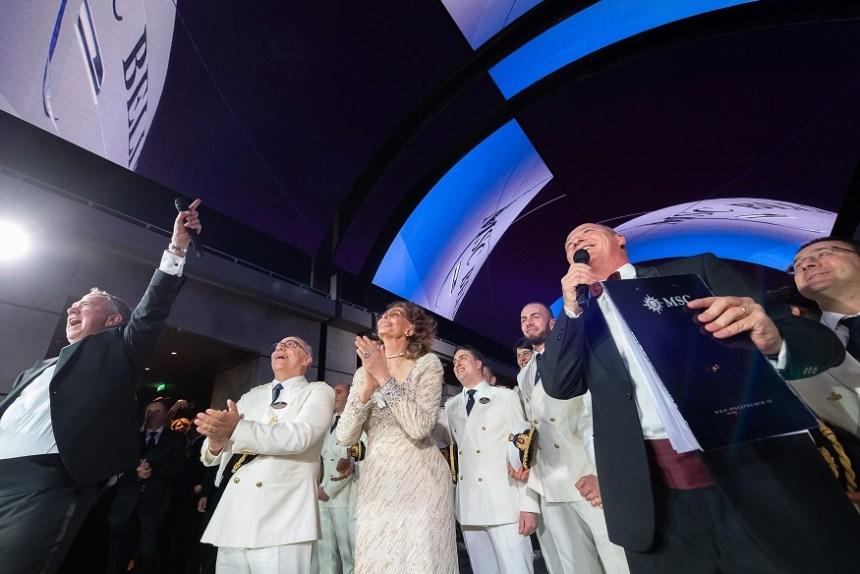 MSC-Bellissima-Main-Ceremony-19 MSC BELLISSIMA – Bilder von Schiff und Taufe