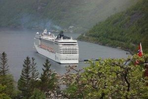 MSC Musica - Geirangerfjord