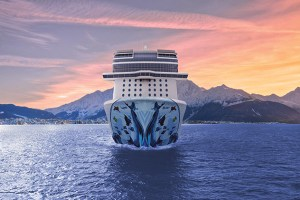 Emspassage der Norwegian Bliss