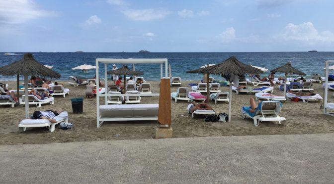 Ibiza beach Bora Bora