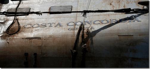 costa concordi relitto sinking