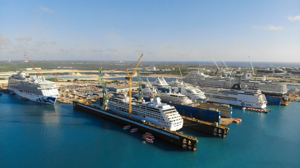Grand Bahama Shipyard: 25 Cruise Projects Scheduled