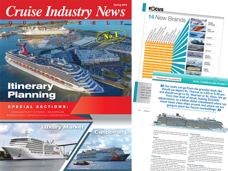 Introducing Cruise Industry News Quarterly Magazine Spring 2019 Issue