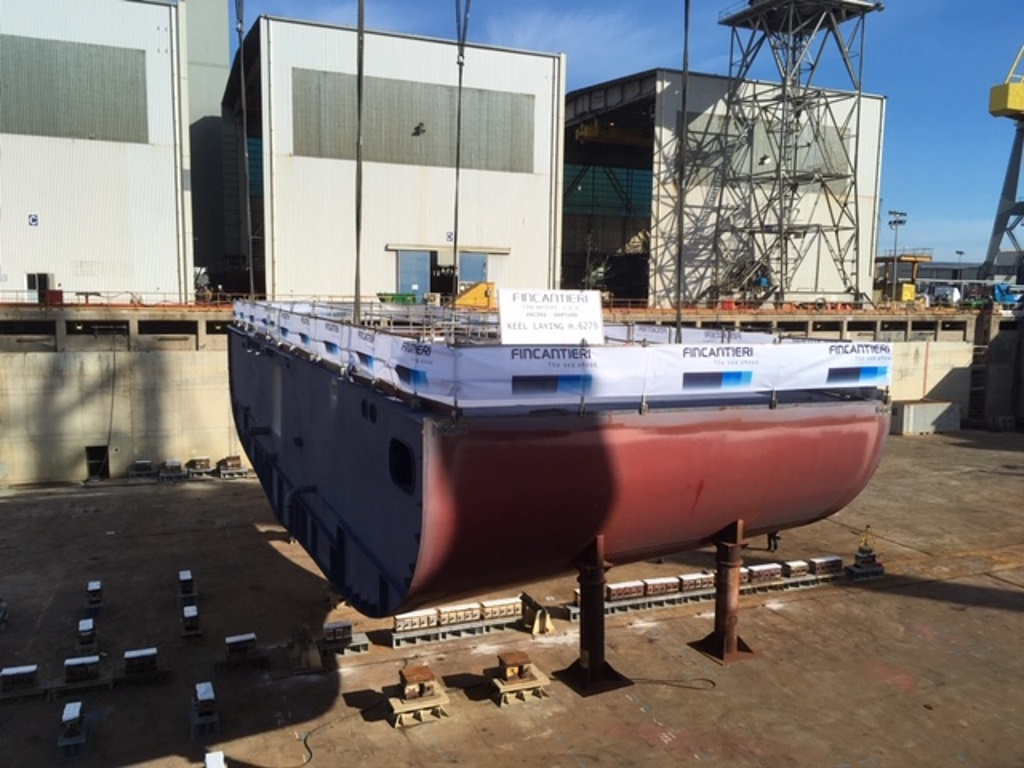 Keel Laid For Silver Moon