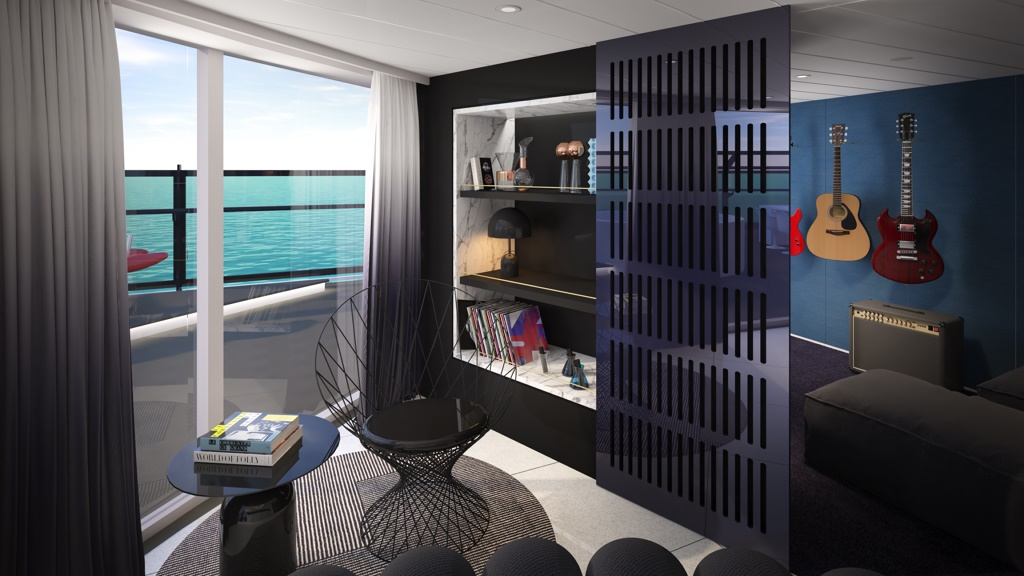 Virgin Voyages Reveals RockStar Suites