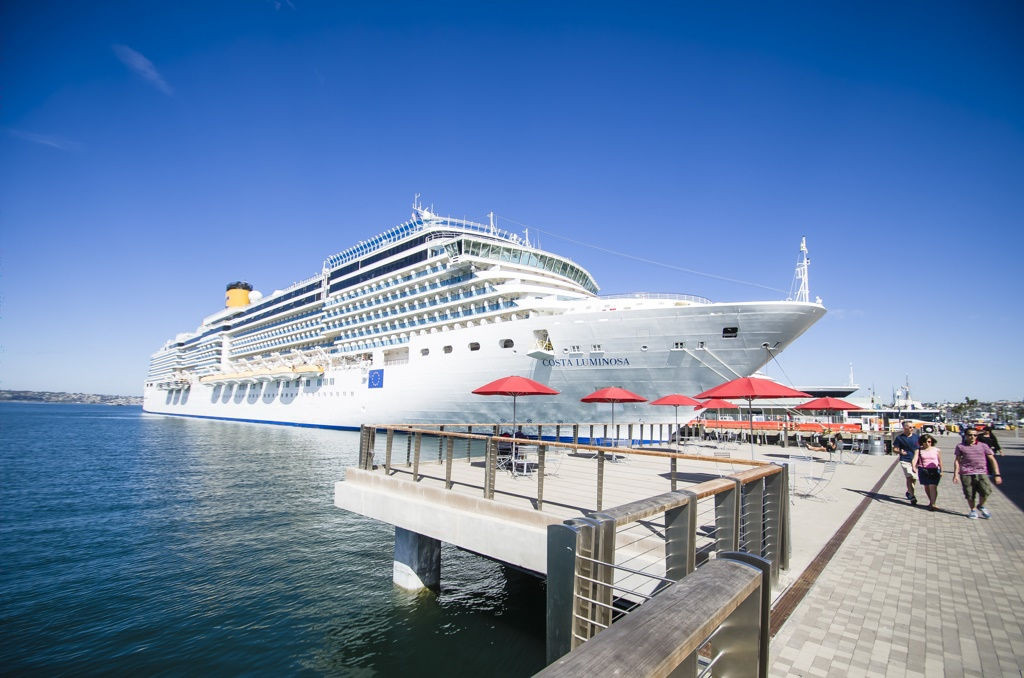 San Diego: Strong Uptick In Cruise Traffic