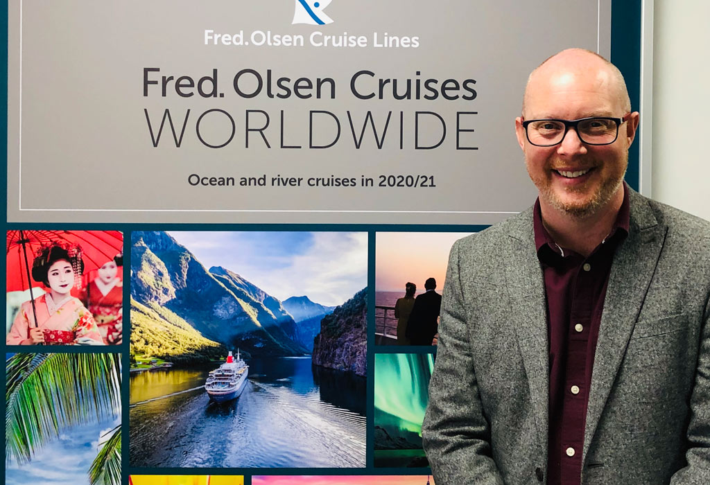 Ridgeon Named Fred. Olsen Head Of Sales