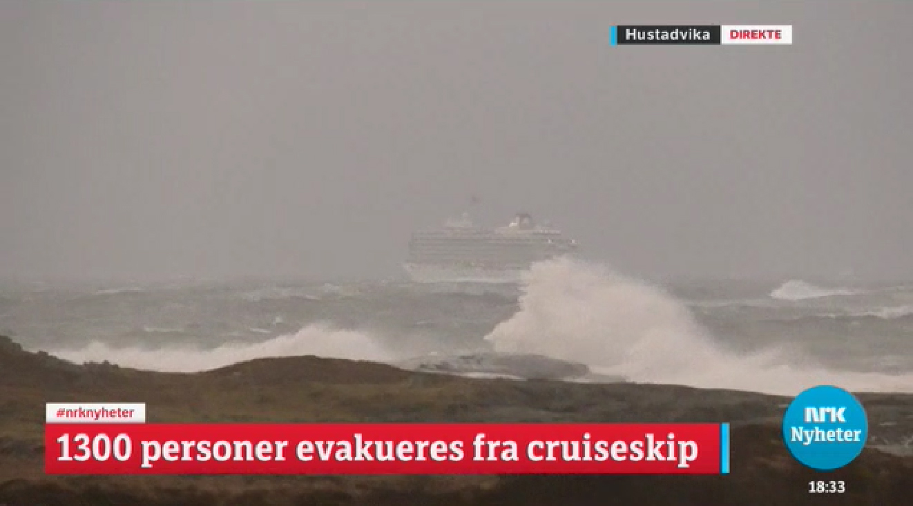 Viking Sky Rescue Underway In Heavy Weather