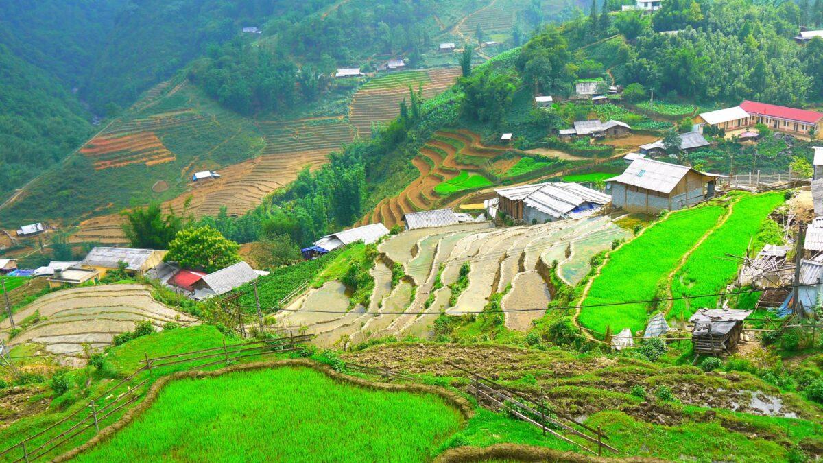 Sapa i det nordlige Vietnam