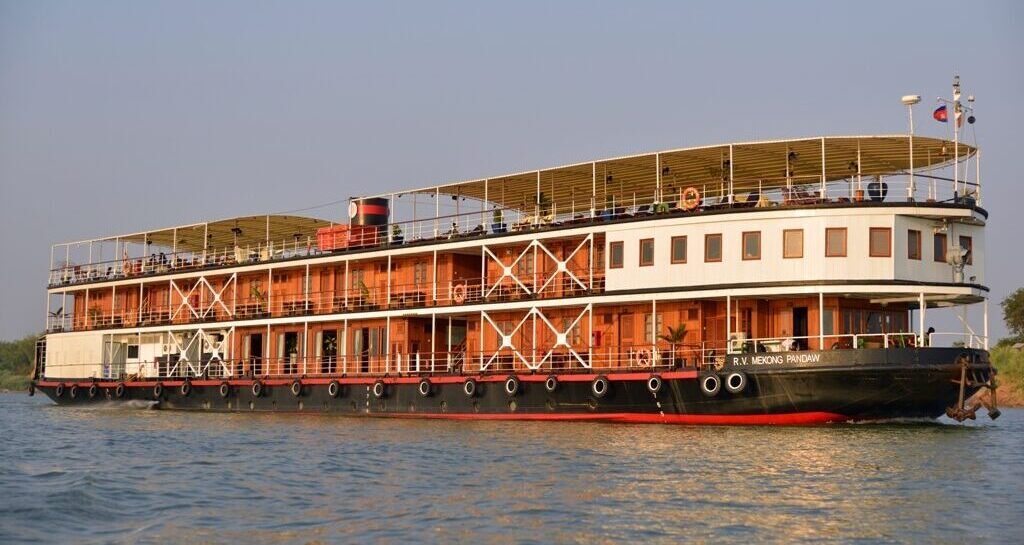 Pandaw Expeditions flod cruise på Mekong Floden