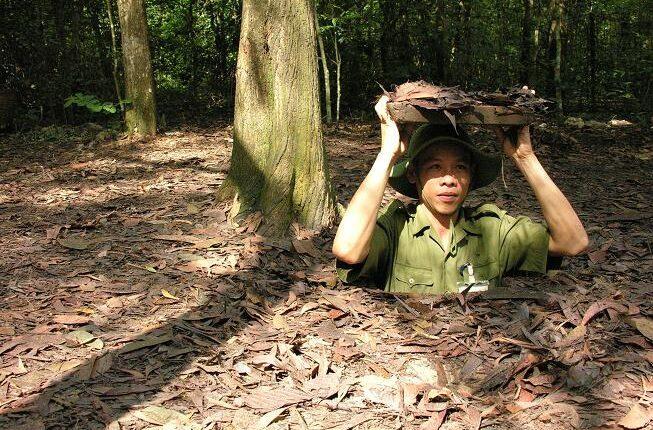Oplev Cu Chi tunnelerne på dit flod cruises på Mekong floden i Cambodia og Vietnam