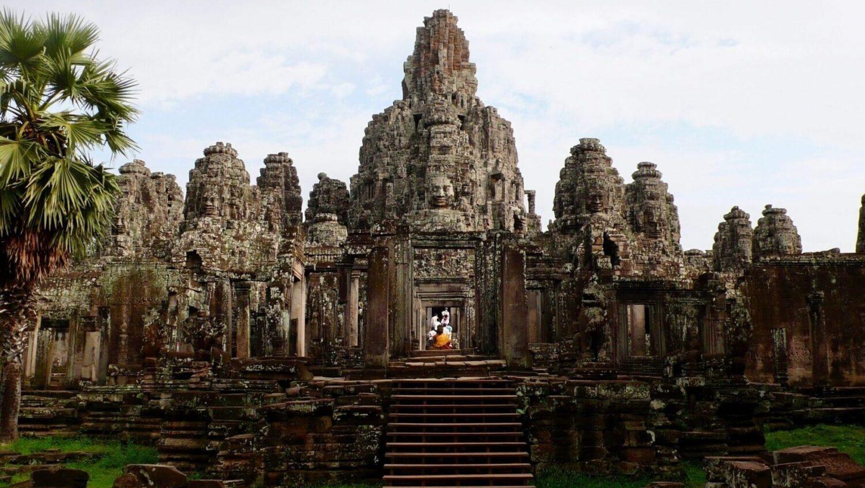 Tempelområde i ruinbyen Angkor