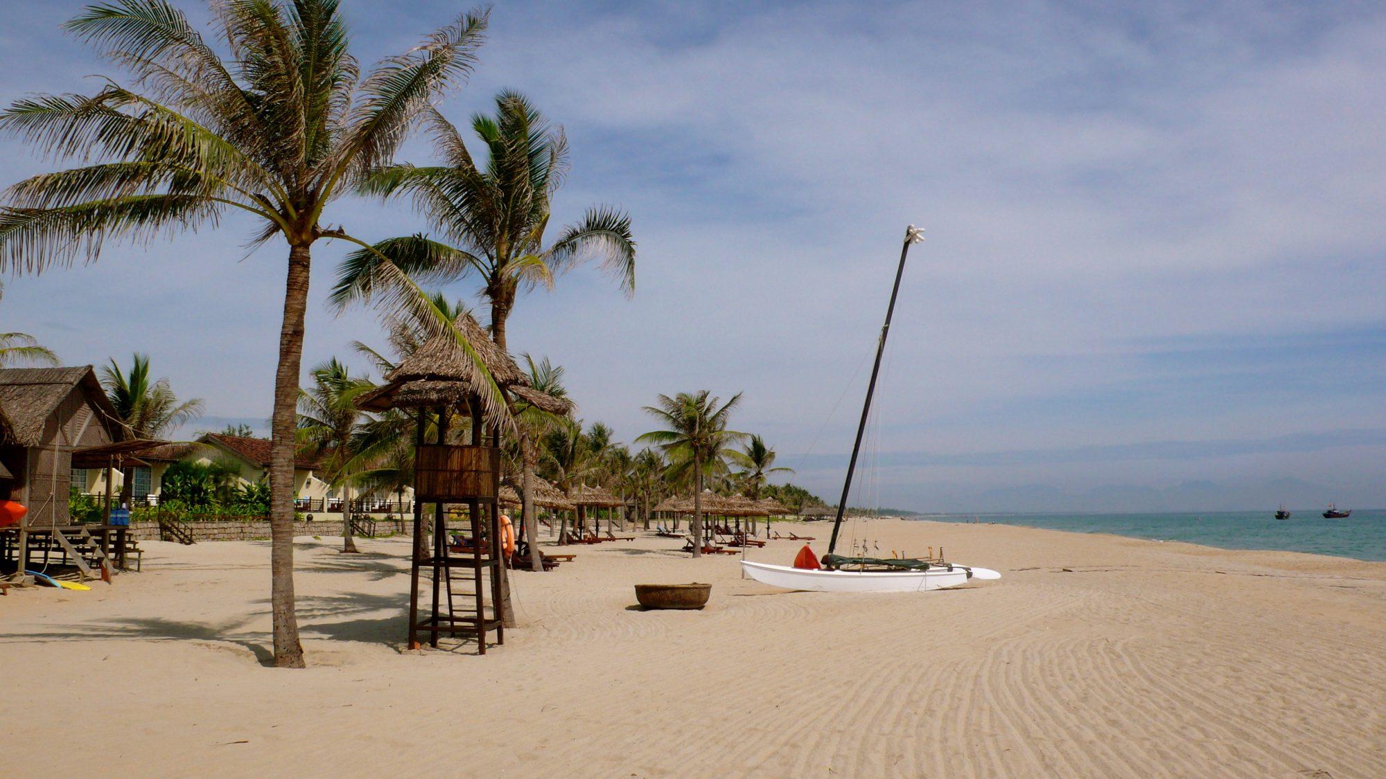 Strand nær Hoi An