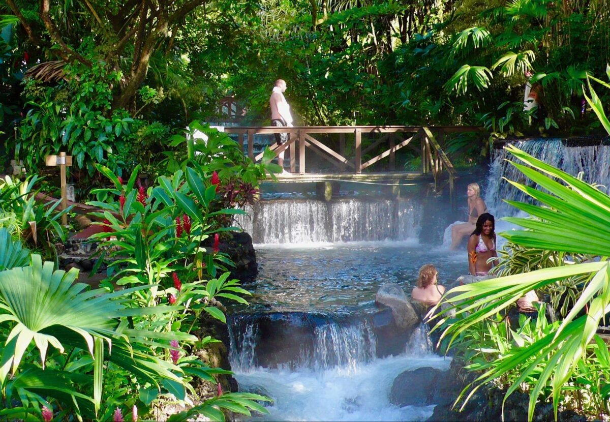Tabacon Hot Springs i Costa Rica