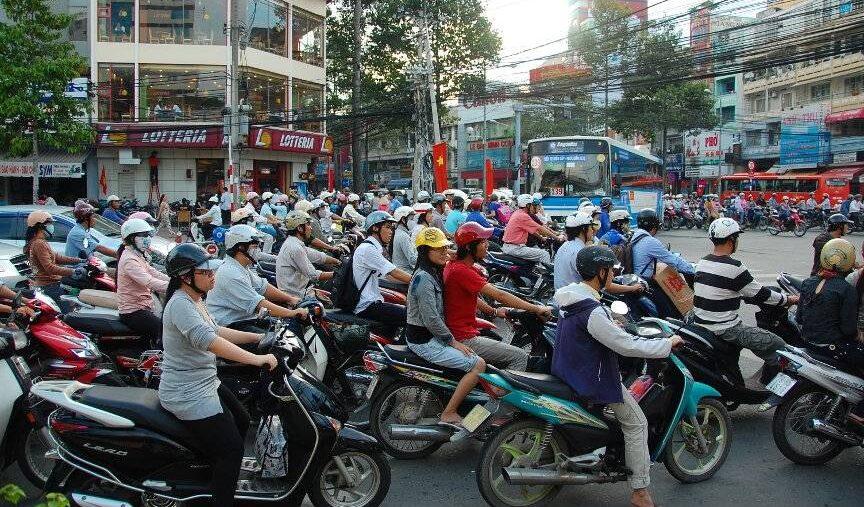 Myldretid i Hanoi