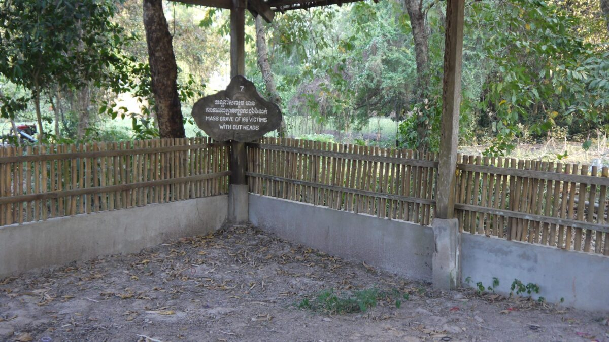 Massegrave hvor Toul Sleng fængslets indsatte blev henrettet