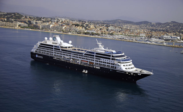Azamara Quest i Cannes